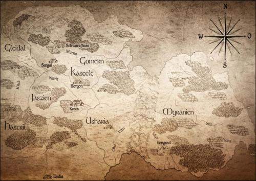 Professionelle Landkarte Sirana