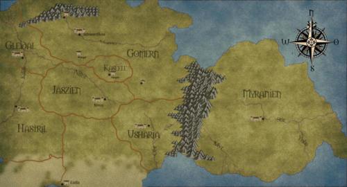 Landkarte Sirana - Versuch 2